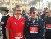 """بالصور.. السفير السويسرى ومحافظ القاهرة يتقدمان مارثون """"جرية جنيف"""""""