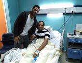 """""""أوسه"""" يزور أحمد مرتضى منصور فى المستشفى"""