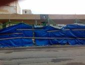 """بالصور.. قارئ يشكو من عدم استكمال تطوير ترام """"محطة الرمل"""" بالإسكندرية"""
