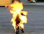 فتاة تشعل النار فى نفسها لرفض خطبتها وتتسبب فى وفاة جدها بالإسكندرية