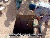 المتحدث العسكرى: قوات حرس الحدود دمرت 7 أنفاق بسيناء