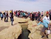 """بالصور.. زيارة 400 شاب وفتاة بالفوج الــ9 من """"اعرف بلدك"""" لشرم الشيخ"""