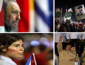 """""""سيجار كوبا فى فم الموت"""".. بالصور: آلاف يحتشدون فى وداع """"كاسترو"""".. حكم 49 سنة وعاصر 11 رئيسا أمريكيا ونجا من 600 محاولة اغتيال واستسلم أخيرا للنار.. و""""رماده"""" يستقر فى مثواه بجوار """"مارتى"""" بطل الاستقلال"""