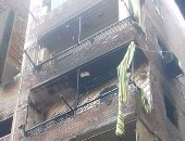 النيابة تنتدب المعمل الجنائى لمعاينة حريق شقة فى الأزبكية