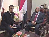 وزير الزراعة الصينى يزور القاهرة أبريل المقبل لتوقيع مذكرات تفاهم مشتركة
