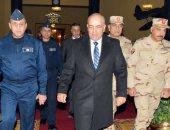 الفريق محمود حجازى يعود إلى أرض الوطن بعد انتهاء زيارته الرسمية لليونان