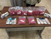 سقوط مسجل خطر بحوزته 400 قرص مخدر قبل ترويجها فى الزاوية الحمراء