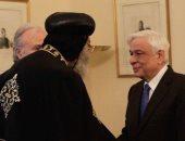 بالصور.. 3 زيارات رسمية للبابا تواضروس فى اليونان أبرزها لرئيس الجمهورية