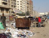 بالصور.. تراكم القمامة أمام مدخل مدينة قباء بالسلام