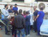 ننشر أول صور لمصابى حادث الكاتدرائية المرقسية من داخل المستشفيات