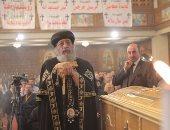 البابا تواضروس يرأس صلوات الجنازة  على أرواح شهداء تفجير البطرسية
