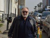 """يحيى الفخرانى مع """"بالحجم العائلى"""" فى أحد مستشفيات القاهرة بعد مرسى علم"""