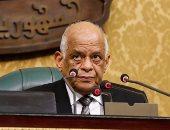 """رئيس البرلمان يرفع الجلسة العامة ويتمنى الشفاء لـ""""علاء عبد المنعم"""""""