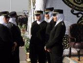 الشرطة النسائية تؤمن السيدات أثناء الاحتفال بالذكرى الخامسة لثورة 30 يونيو