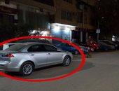 بالفيديو.. العثور على السيارة المستخدمة فى تفجير شارع الهرم وبداخلها مادة متفجرة