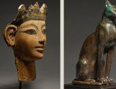 """بالصور.. بيع تمثال الإله سخمت وأشغال الفن المصرى القديم بـ""""سوثبى"""""""