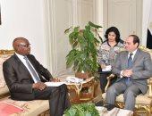 رئيس السنغال يعزى السيسى فى ضحايا الكنيسة البطرسية
