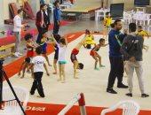 """""""التربية الرياضية"""" تحقق المركز الأول ببطولة القاهرة للجمباز"""