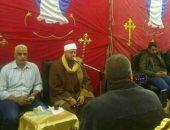 """شقيق أحد شهداء الكنيسة: الشيخ """"سعد"""" قرأ سورة مريم بعزاء عمى"""
