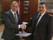 بروتوكول تعاون بين تامر مرسى ومدينة الإنتاج الإعلامى بقيادة أسامة هيكل