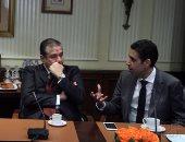 بالصور.. بدء التداول على أسهم شركة عبور لاند بالبورصة المصرية