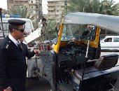 ضبط وتحرير 831 مخالفة مرورية فى حملة بالغربية