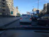 المرور: انتهاء أعمال إصلاحات فواصل كوبرى أكتوبر اتجاه مدينة نصر