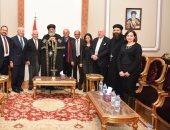علماء مصر بالخارج يقدمون العزاء لقداسة البابا تواضروس فى ضحايا البطرسية