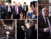 زعيم أغلبية برلمان ألمانيا يزور الكنيسة البطرسية ويعرب عن حزنه للحادث