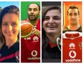 """بالصور.. 7 لاعبين يمثلون """"نقطة التحول"""" فى ألعاب الصالات بالأهلى"""