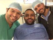 عمر السعيد ممنوع من الكلام بسبب عملية جراحية فى الأحبال الصوتية
