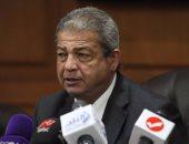 وزير الرياضة يشهد مراسم وضع حجر الأساس لمقر اتحاد اليد الجديد