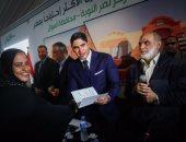 """بالصور.. أبوهشيمة و3 وزراء يصلون """"توشكى"""" بأسوان لافتتاح 52 منزلا تم إعادة إعمارها"""