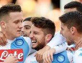 نابولى يتخطى فيورنتينا ويتأهل لنصف نهائى كأس إيطاليا