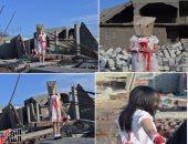 """بالصور.. فبركة مشاهد دموية لطفلين من بورسعيد على أنهما من """"حلب"""".. طبيب نفسى: تهدف لتدمير براءة الأطفال وتدفعهم لكراهية المجتمع والميل للعنف.. وخبير أمنى: يجب خضوع """"الفيس بوك"""" للمراقبة الأمنية المستمرة"""