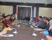 محافظ البحر الأحمر يعقد اجتماعا مع المجلس القومى للسكان بالمحافظة