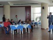 بالصور.. مفوضية اللاجئين بالأمم المتحدة تنظم دورة تدريبية للضباط بمطروح