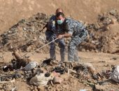 العثور على عشرات الجثث داخل مقبرة جماعية فى مدينة الرقة السورية