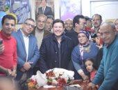"""بالصور.. """"اليوم السابع"""" فى حفل عيد ميلاد أمير الغناء هانى شاكر"""