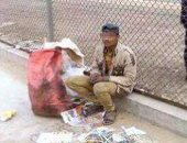 ضبط لص أثناء سرقته كابلات أعمدة إنارة بحى النزهة فى القاهرة