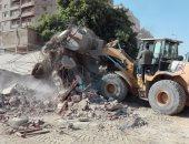إزالة 305 أفدنة تعديات على كردون مدينة أخميم الجديدة
