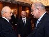 بالصور.. رئيس الوزراء لوزير خارجية العراق: نساند جهودكم فى مكافحة الإرهاب ودحره