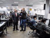 """بالصور.. رئيس تحرير صحيفة الأنباء الكويتية يزور مقر  """"اليوم السابع"""""""