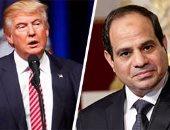 السيسي يهنئ ترامب بتولى مهامه رئيسا للولايات المتحدة الأمريكية