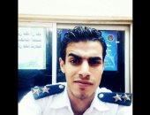 نقل الملازم حسين رأفت المصاب فى انقلاب سيارة ترحيلات لمستشفى الشرطة
