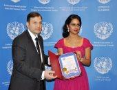 الفيدرالية العالمية تكرم شيخة آل ثانى بعد الفوز بجائزة الإبداع الرياضى