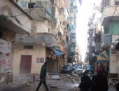 مصرع مواطن وإصابة 13 فى إنهيار شرفة منزل شرق الإسكندرية