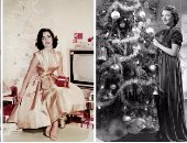 بالصور.. شاهد كيف احتفلت نجمات هوليود زمان بالكريسماس؟