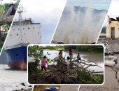 إعصار نوك تن يضرب الفلبين وتهجير 300 ألف شخص إلى مراكز إيواء