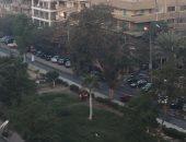 قارئ يرصد أعدة إنارة مضاءة نهارا فى شوارع مصر الجديدة
